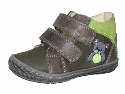 Szamos fiú első lépés gyerekcipő 17 24 kék zöld dínós