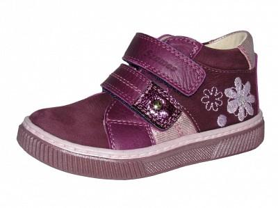Szamos kölyök mályva magasszárú cipő